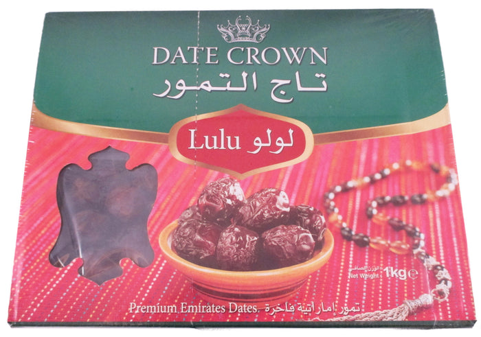 Date Crown - Premium Emirates Dates - 35.3 oz / 1 kg - Asiangrocery2yourdoor