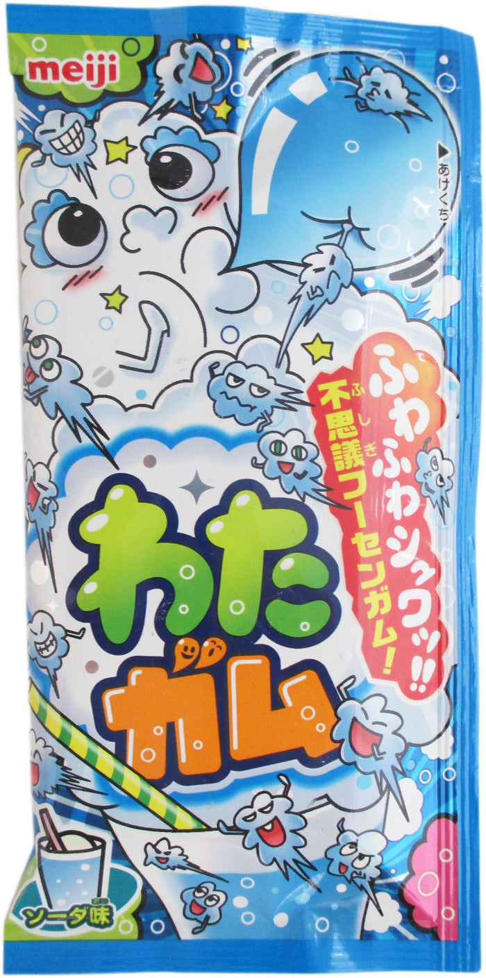 Meiji - Watagum Soda Candy - 0.35 oz / 10 g - Asiangrocery2yourdoor