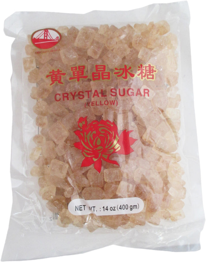 Chinese Yellow Lump Crystal Sugar - 14 oz / 400 g - Asiangrocery2yourdoor