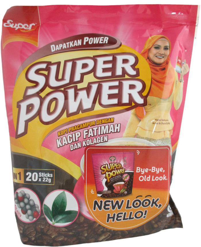 Super Power - 5 in 1 Collagen Coffee Mix - 15.52 oz / 440 g - Asiangrocery2yourdoor