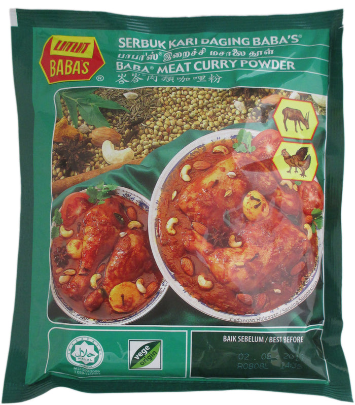 Baba - Meat Curry Powder - 8.82 oz / 250 g - Asiangrocery2yourdoor