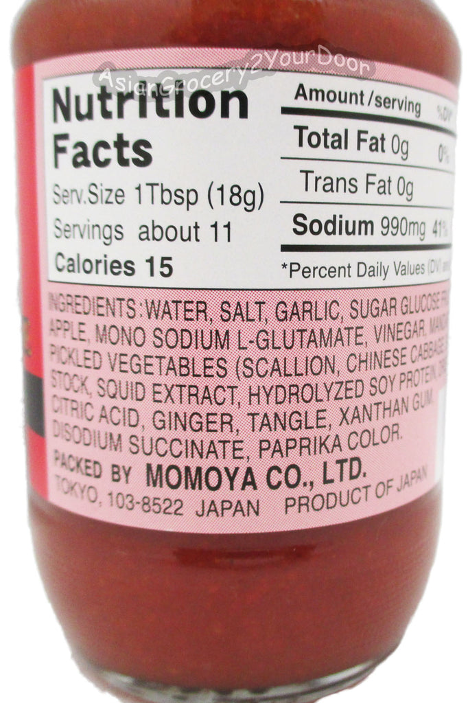 Momoya - Kimchee Base Spicy Chili Sauce - 6.7 oz / 190 g - Asiangrocery2yourdoor