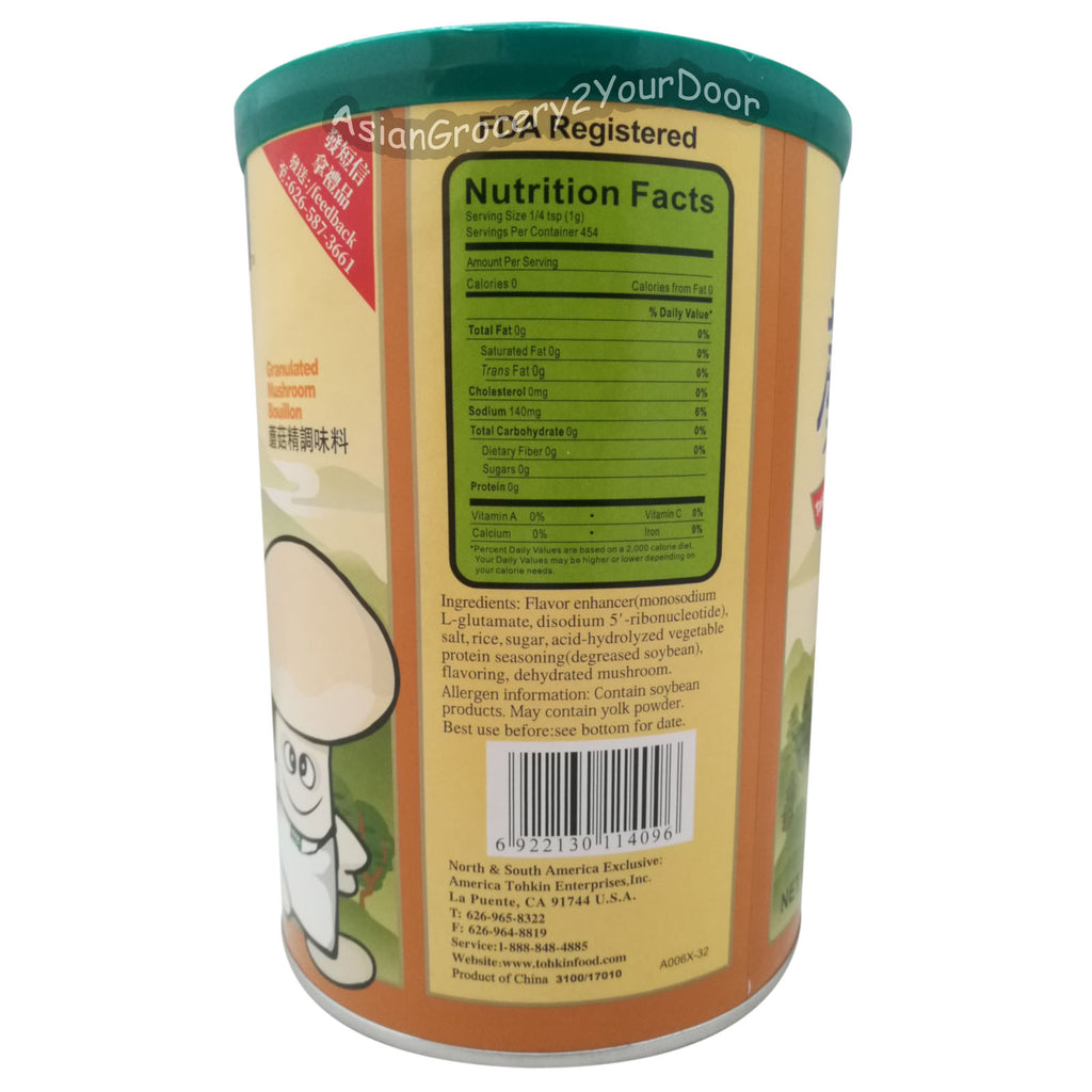 Totole - Granulated Mushroom Bouillon - 16 oz / 454 g - Asiangrocery2yourdoor