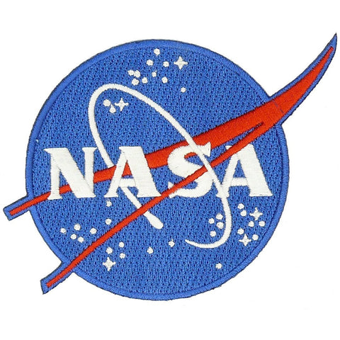 blue nasa astronaut wings patches - photo #1
