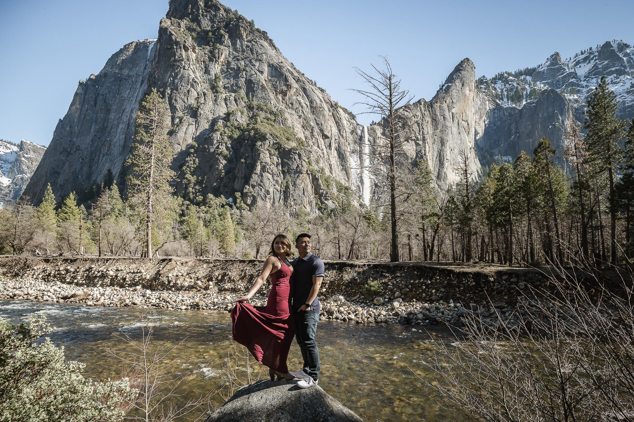 YOSEMITE, CA | From High School Chemistry Lab Partners to Life Long Partners