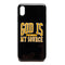 God Is My Source 'Campus' iPhone Case Black / Gold - Accessories God Is My Source