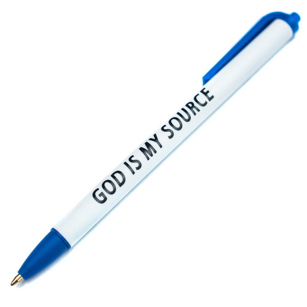 God Is My Source Journal Pen - Accessories ManiaManiaMania