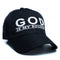 "God Is My Source ""Line Logo"" Hat Black/White - hat God Is My Source"