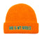 God Is My Source 'Campus' Docker Beanie Orange / Green - Beanie God Is My Source