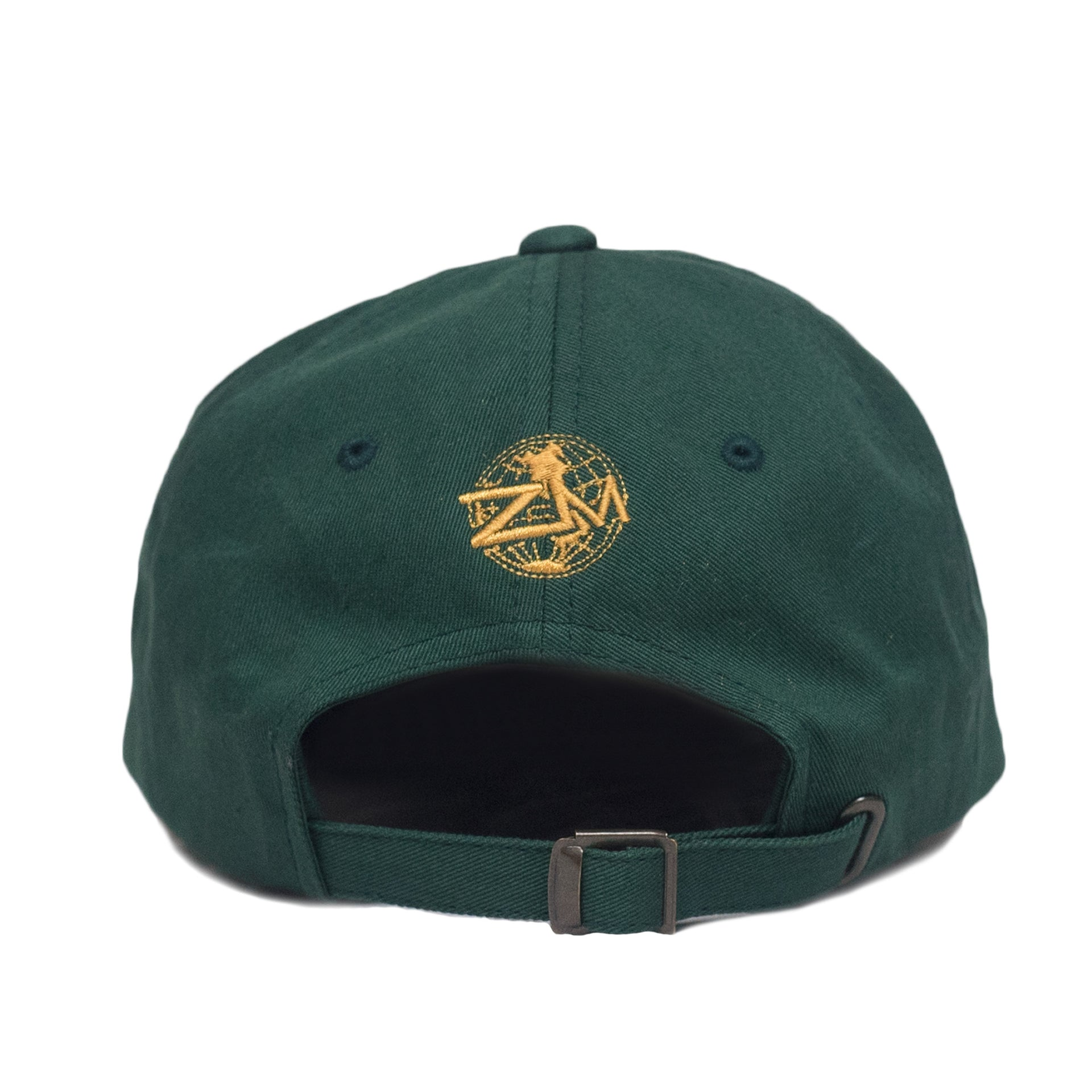 God Is My Source Dad Hat Green/Gold - hat God Is My Source