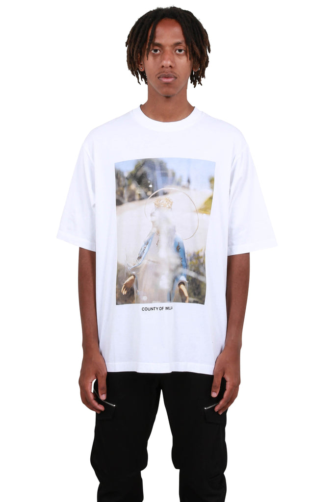 Holy Over T-Shirt - White