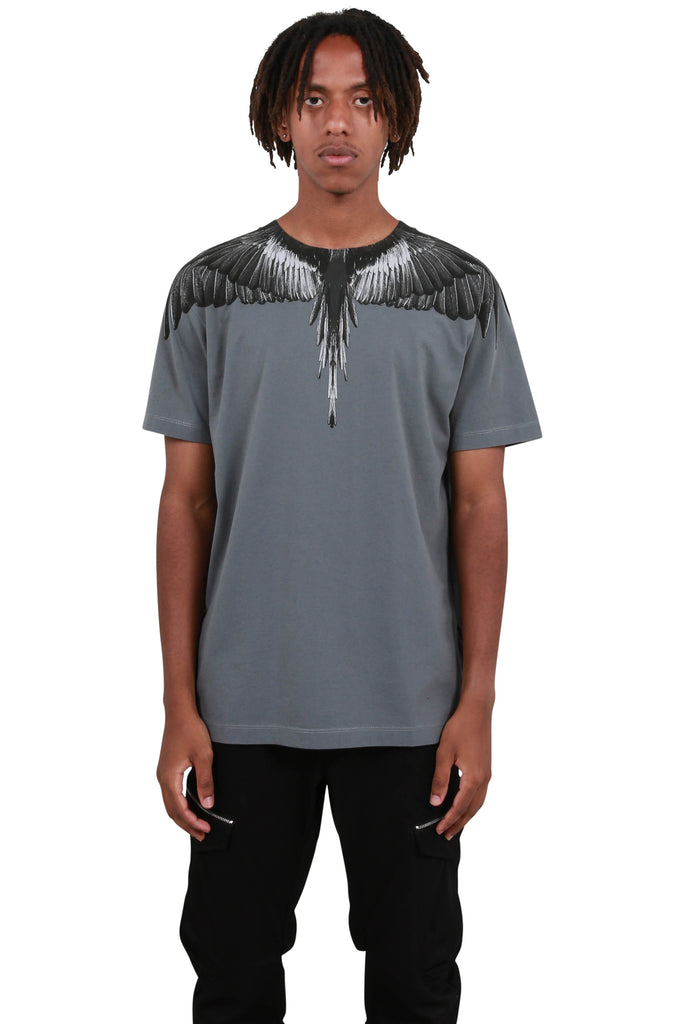 Black Wings T-Shirt - Anthracite Black