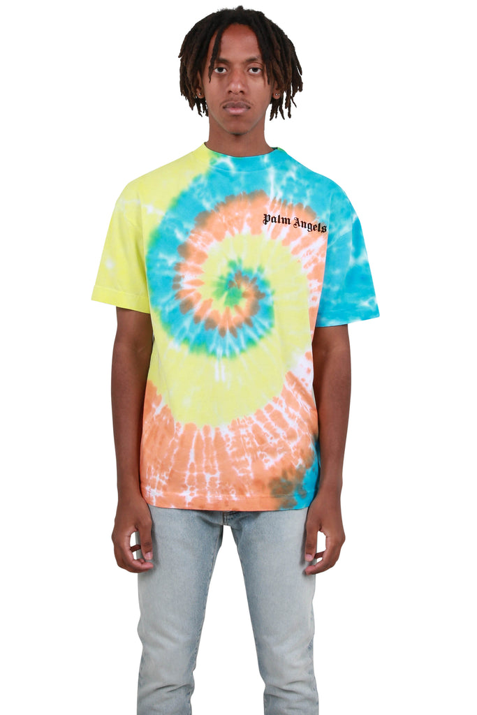Tie Dye New Basic Tee - White