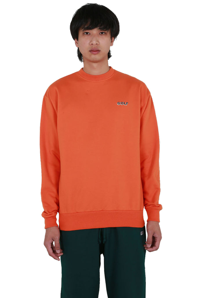 Golf Mini 3D 2 Tone Logo Crewneck - Texas Orange