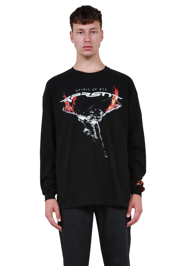 RPRSNT Long Sleeve T-Shirt - Black