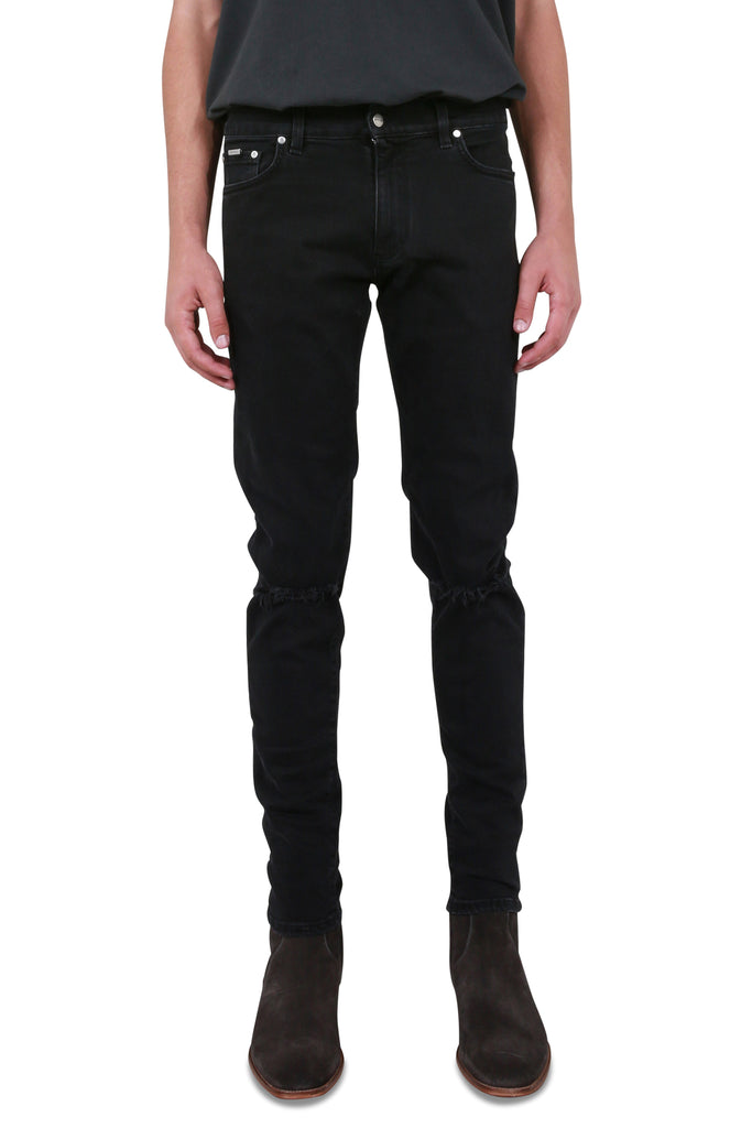 REPRESENT CLO: Destroyer Denim - Vintage Black | LESSONS