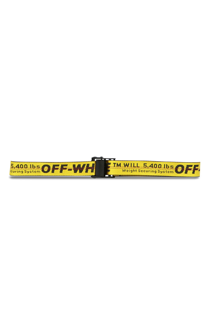 OFF-WHITE: Industrial Belt - Yellow | LESSONS