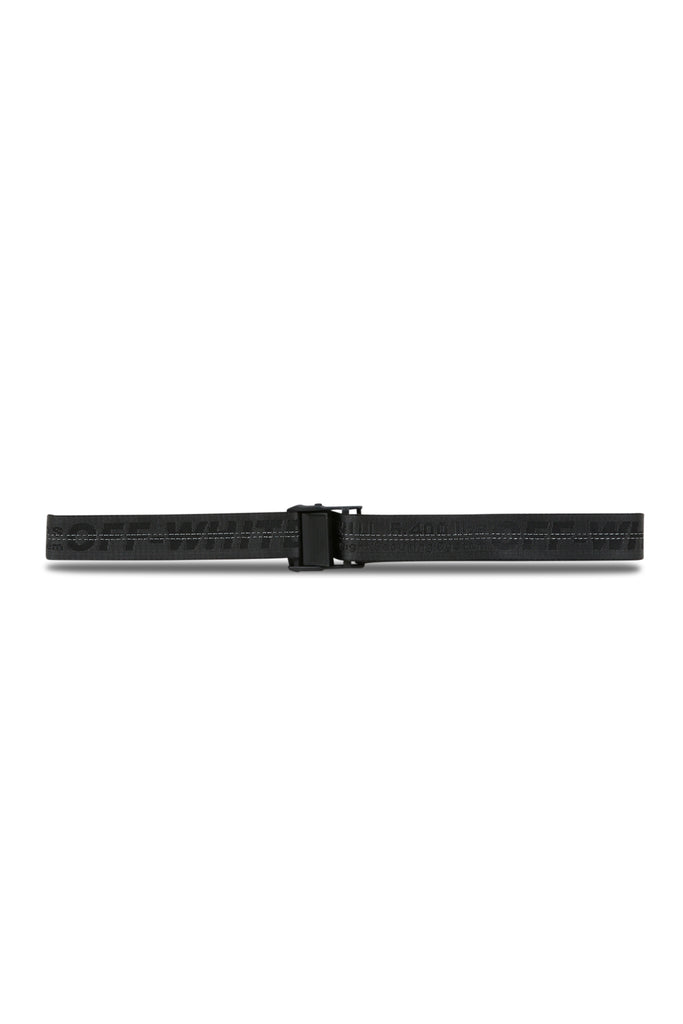 OFF-WHITE: Industrial Belt - Black | LESSONS