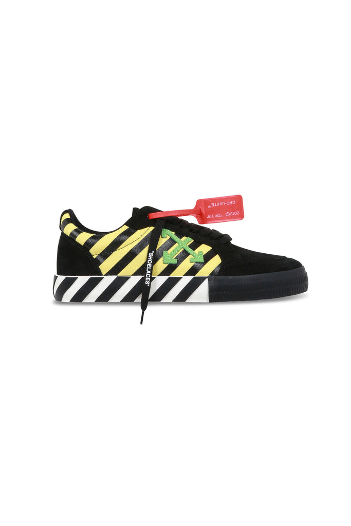 Low Vulcanised Sneakers - Yellow/Green