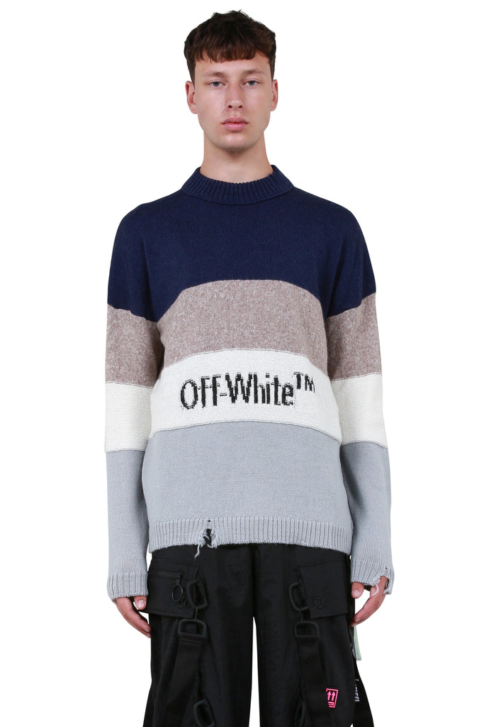 OW Sweater - Blue Black