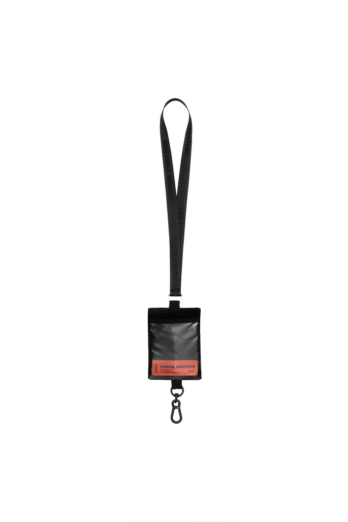 Passport Keychain Holder - Black