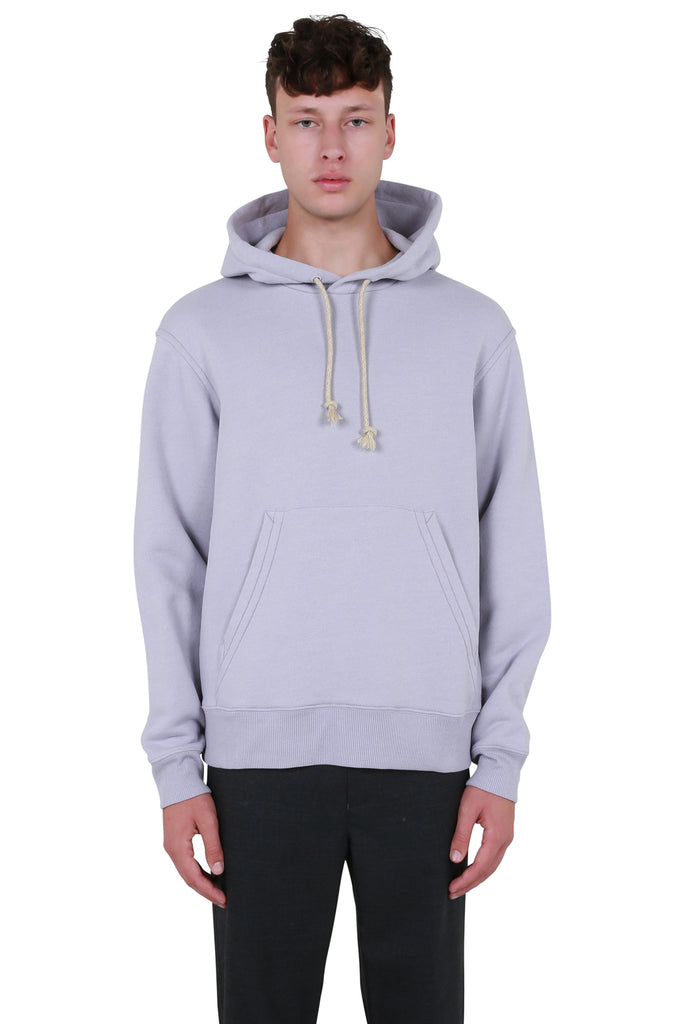 Reverse-label Hooded Sweatshirt - Lilac Purple