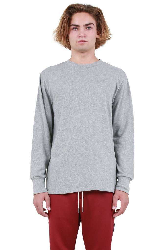 Logo Long Sleeve T-Shirt - Heather Grey
