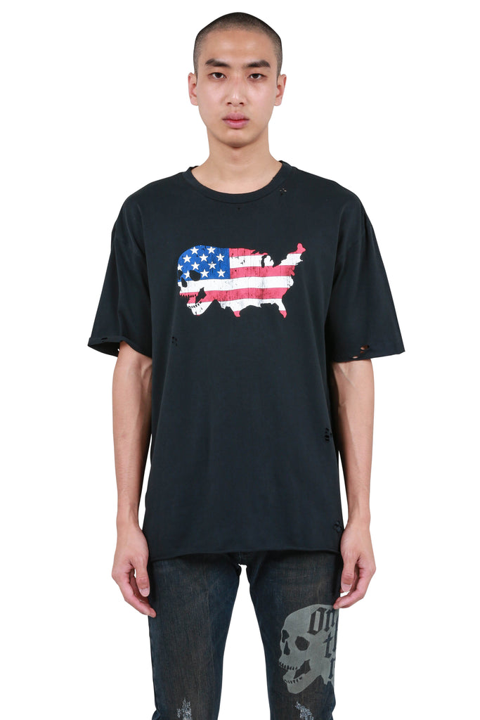 USA Born T-shirt - Black