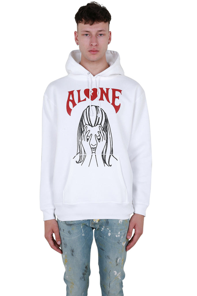 Alone Hoodie - White