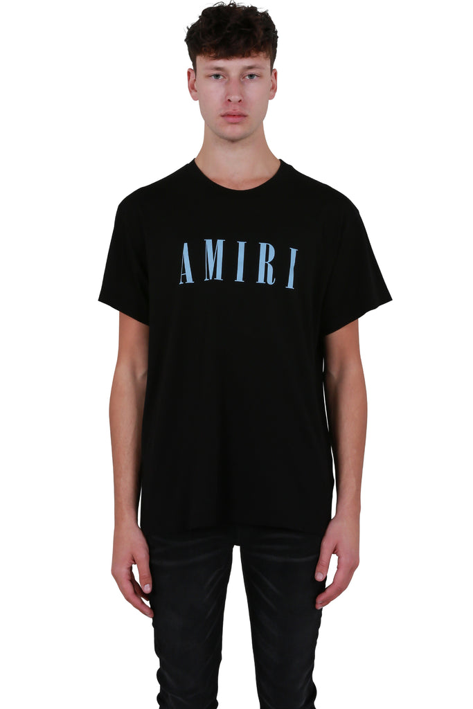 AMIRI Core T-shirt - Black/Cobalt