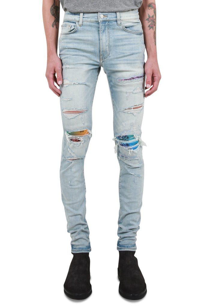 MX1 Rainbow Bandana Jean - Super Light Indigo