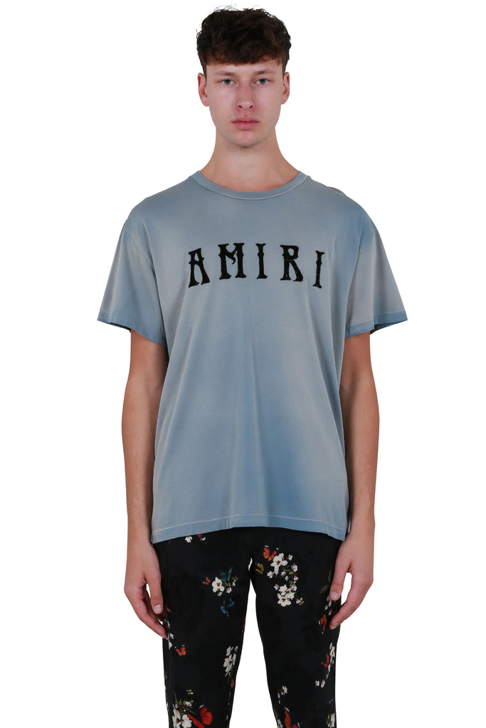 AMIRI Hippie T-shirt - Washed Cobalt