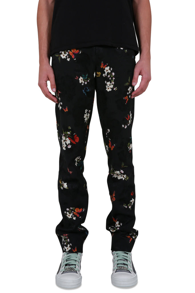 Butterfly Jacquard Pants