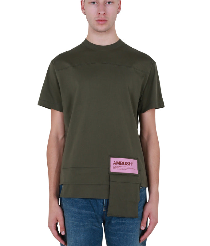 New Waist Pocket T-shirt - Dark Green