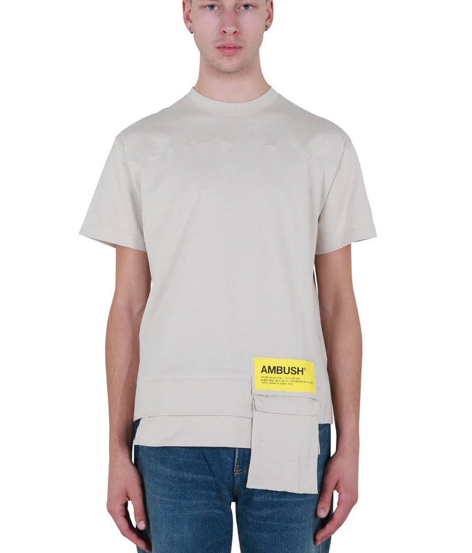 New Waist Pocket T-shirt - Beige
