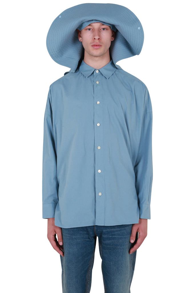 Hat Shirt - Light Blue