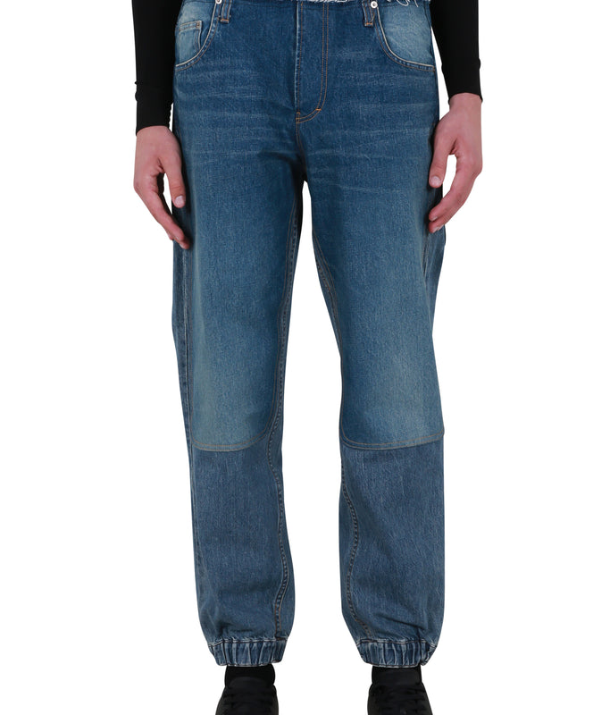 Denim Hybrid Pants - Indigo