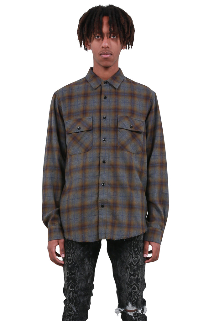 Flannel Shirt - Green