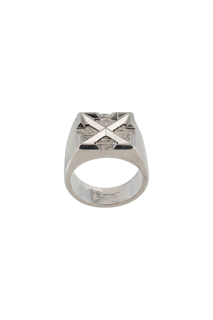 Arrow Signet Ring - Metal
