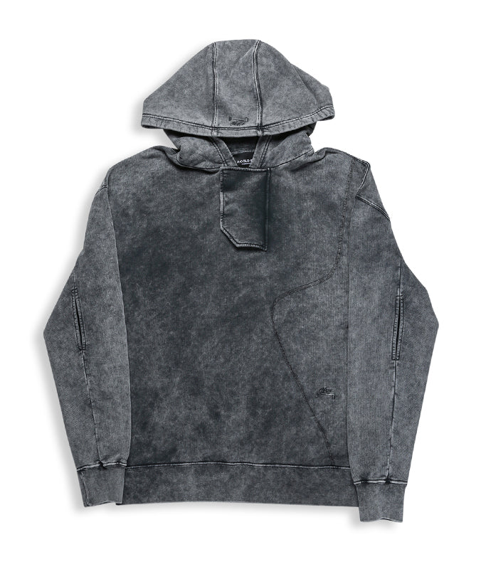 Fade Out Hoody - Black