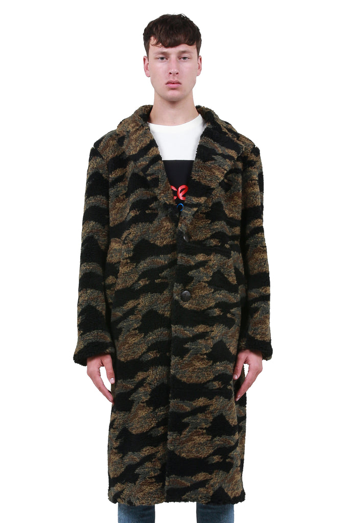 Teddy Bear Coat - Camouflage
