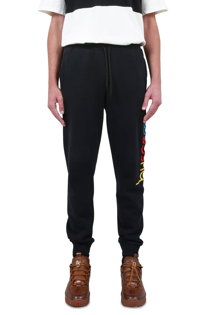 BUSCEMI: BUSCEMI Logo Sweatpants - Black | LESSONS