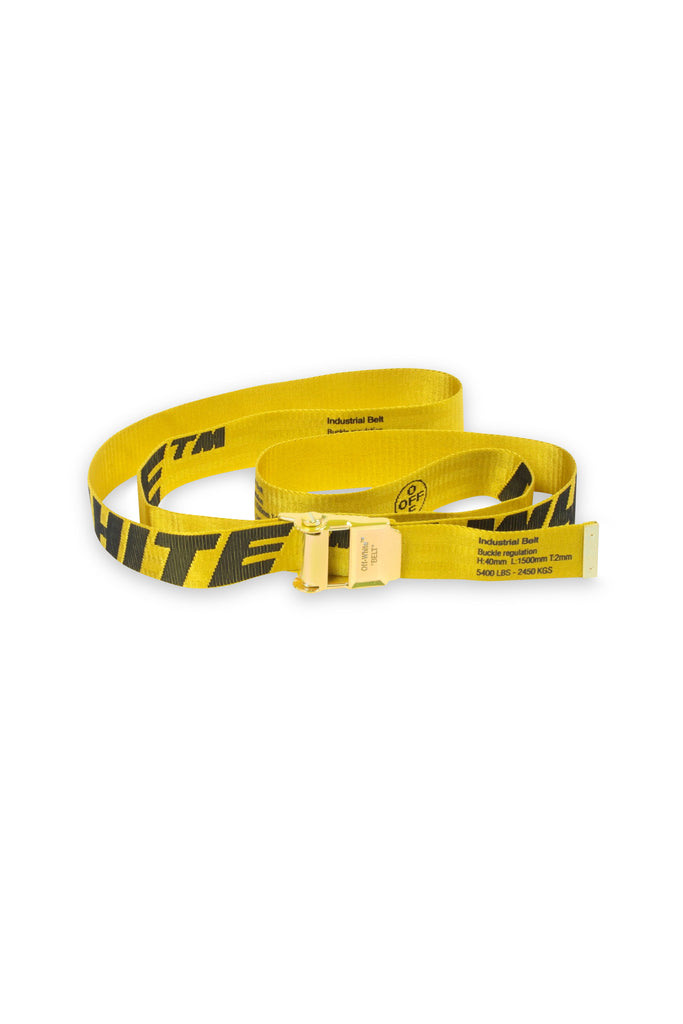 2.0 Industrial Belt - Yellow