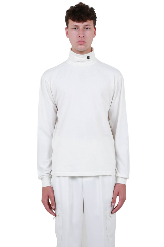 The Monogram Turtleneck - Off-White