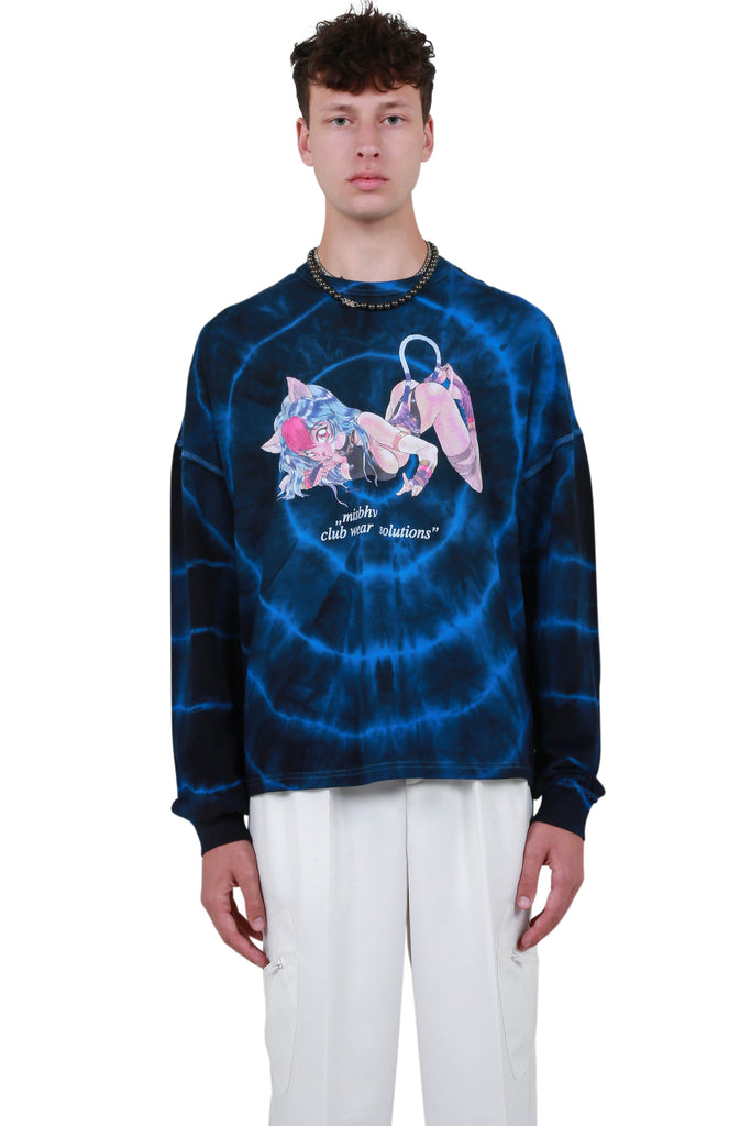 Tokio Club Wear Solutions Long Sleeve - Tie Dye