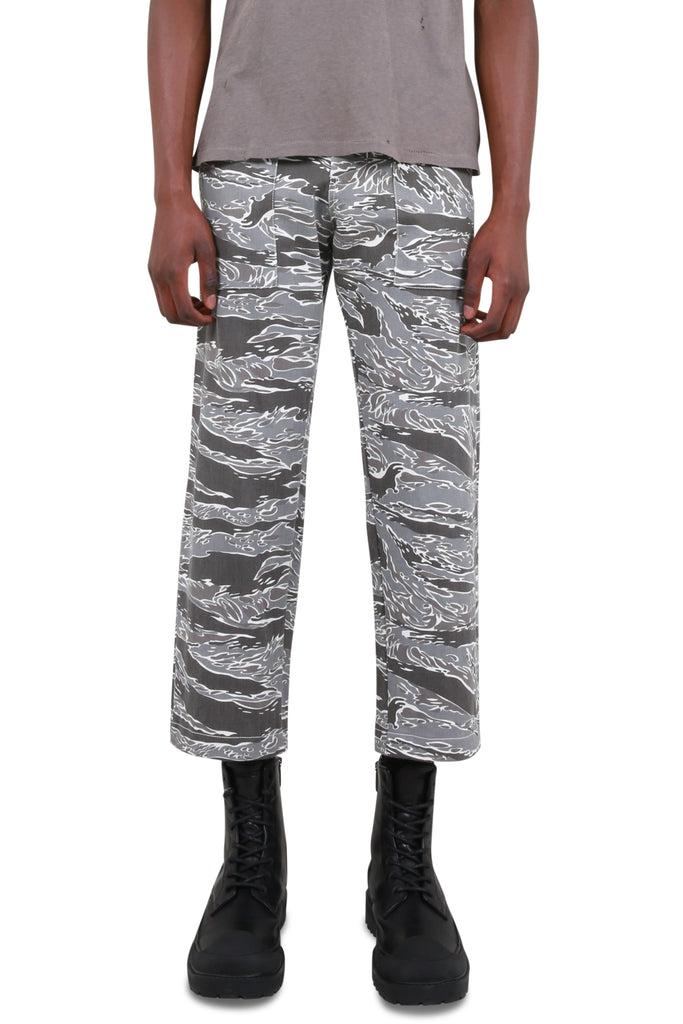 Patch Pocket Pants - Grey Camo