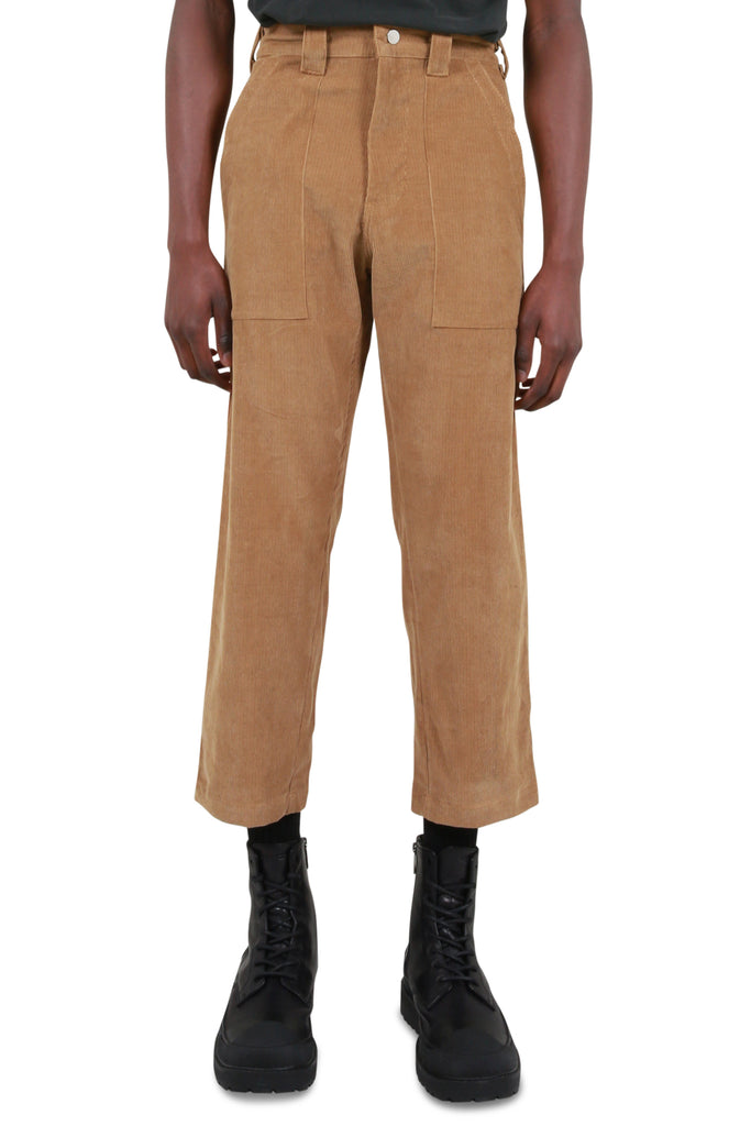 Patch Pocket Pants - Tobacco