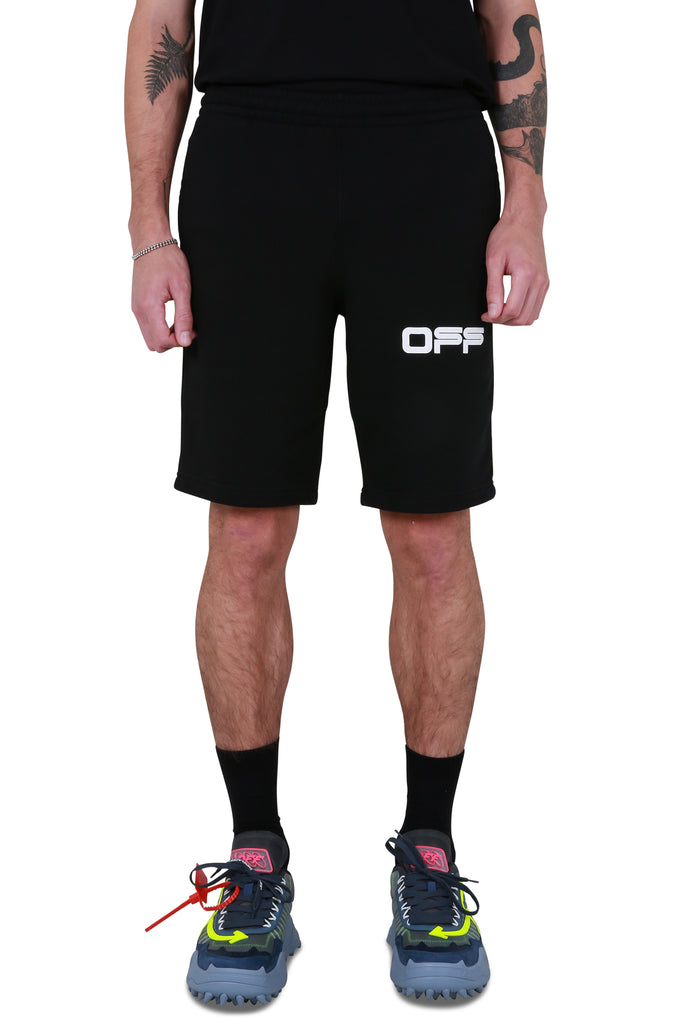 Airport Tape Sweatshorts - Black