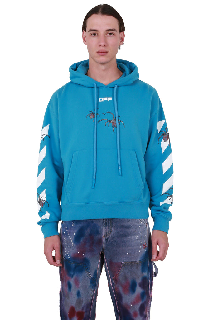 Arachno Arrow Over Hoodie -Blue