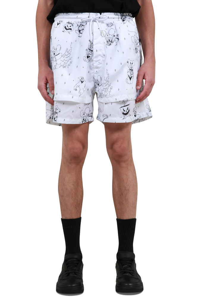 Time Tech Shorts - White